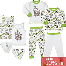Kinderbutt single jersey 8-pc set