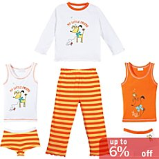 Kinderbutt single jersey 6-pc set