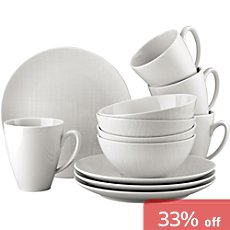 Rosenthal  12-pc combi-tableware set