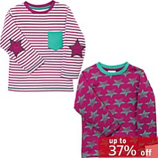 Kinderbutt  2-pack long sleeve t-shirts