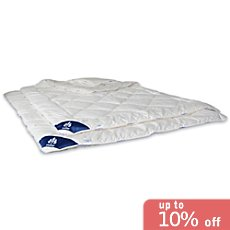 Irisette  2-pack lightweight quilted duvets
