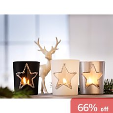 3-pack candle holders