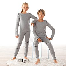Kinderbutt  2-pack thermal long underwear bottoms