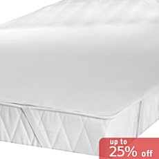 Erwin Müller  mattress pad with elastic straps