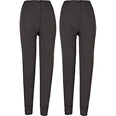 2-pack long underwear bottoms