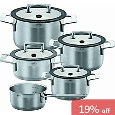 Rösle  cooking pot set, 9-parts