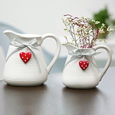 Pack of 2 mini jugs