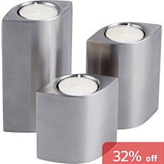 3-pc tealight holders