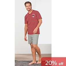RM-Kollektion single jersey short pyjamas