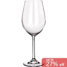 6-pack white whine glasses