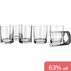 6-pack whisky glasses