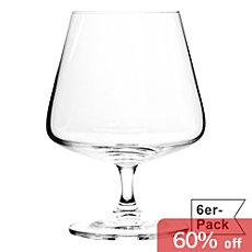 6-pack brandy glasses