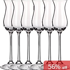 6-pack grappa glasses