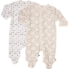 pippi  sleepsuits in double pack