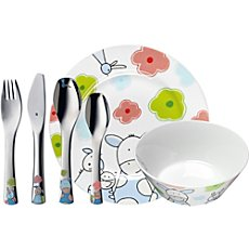 WMF  children cutlery & tableware set, 6-parts