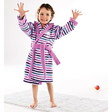 Erwin Müller  children's hooded bathrobe