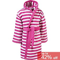 Kinderbutt  hooded bathrobe