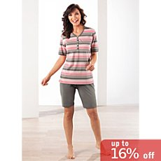 Erwin Müller single jersey women short pyjamas