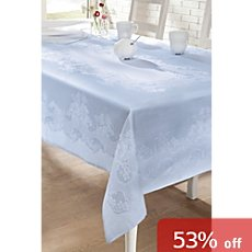 Curt Bauer Damask square tablecloth