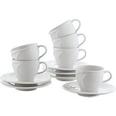 Gepolana  espresso cup set, 12-parts