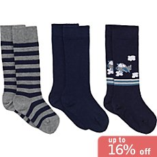 Erwin Müller  3-pack kids knee high socks