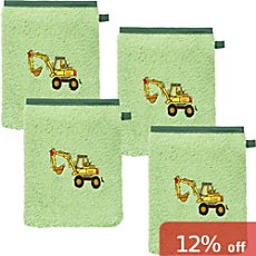 Erwin Müller  4-pack kids wash mitts