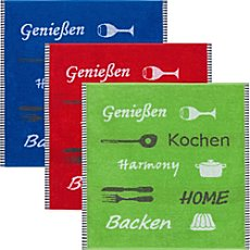 Kracht  3-pack tea towels