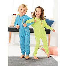 Kinderbutt interlock jersey 2-pl sleepsuits