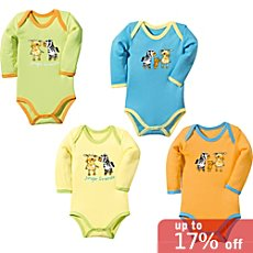 Baby Butt  4-pack bodysuits