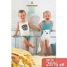 Kinderbutt  2-pack vests