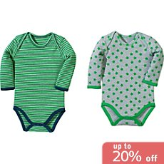 Baby Butt  2-pack bodysuits