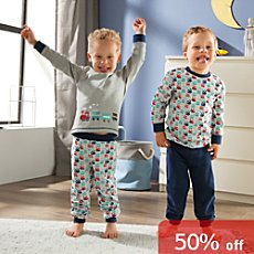 Erwin Müller interlock jersey 2-pack kids pyjamas