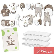 Baby Butt 33-pc newborn essential kit
