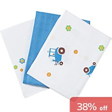 Baby Butt  3-pack muslin squares
