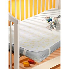 mattress pad with elastic straps