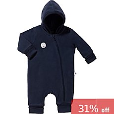 Blue Seven  fleece all-in-one