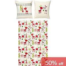 Erwin Müller cotton flannel kids duvet cover set