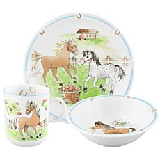 Seltmann Weiden  3-pc children tableware set
