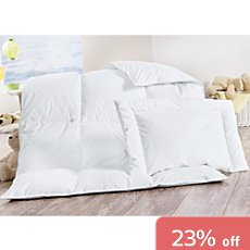 Kinderbutt  down duvet set