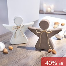 2-pack angel figurines