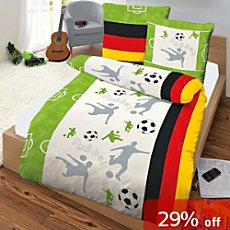 3-pc children duvet cover set, football