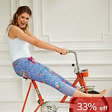 Bloomy single jersey capri leggings