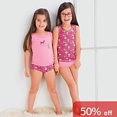 Erwin Müller  4-piece girls underwear set