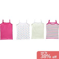 Kinderbutt  4-pack underwear shirts