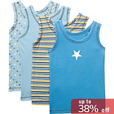 Kinderbutt  4-pk underwear shirts