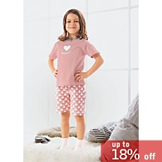 Kinderbutt single jersey short pyjamas