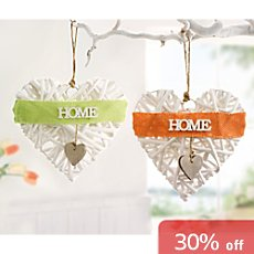 2-pack hanging decoration