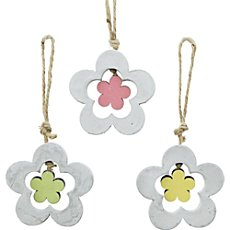 3-pk hanging decoration, flower