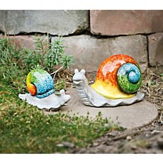 2-pack figurines, snails