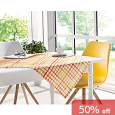 Pichler wipe-clean square tablecloth